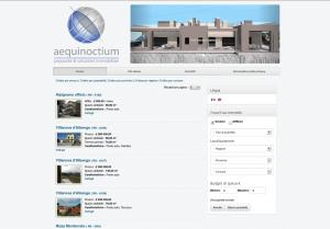Aequinoctium website