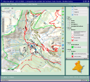WEB GIS of VCO mountain itineraries