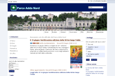 Home Page Parco Adda Nord Joomla FAP CMS Accessibile