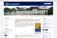 Home Page Parco Adda Nord Joomla FAP CMS Accessibile