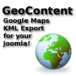 GeoContent Joomla component ready for 2.5 and 3.x