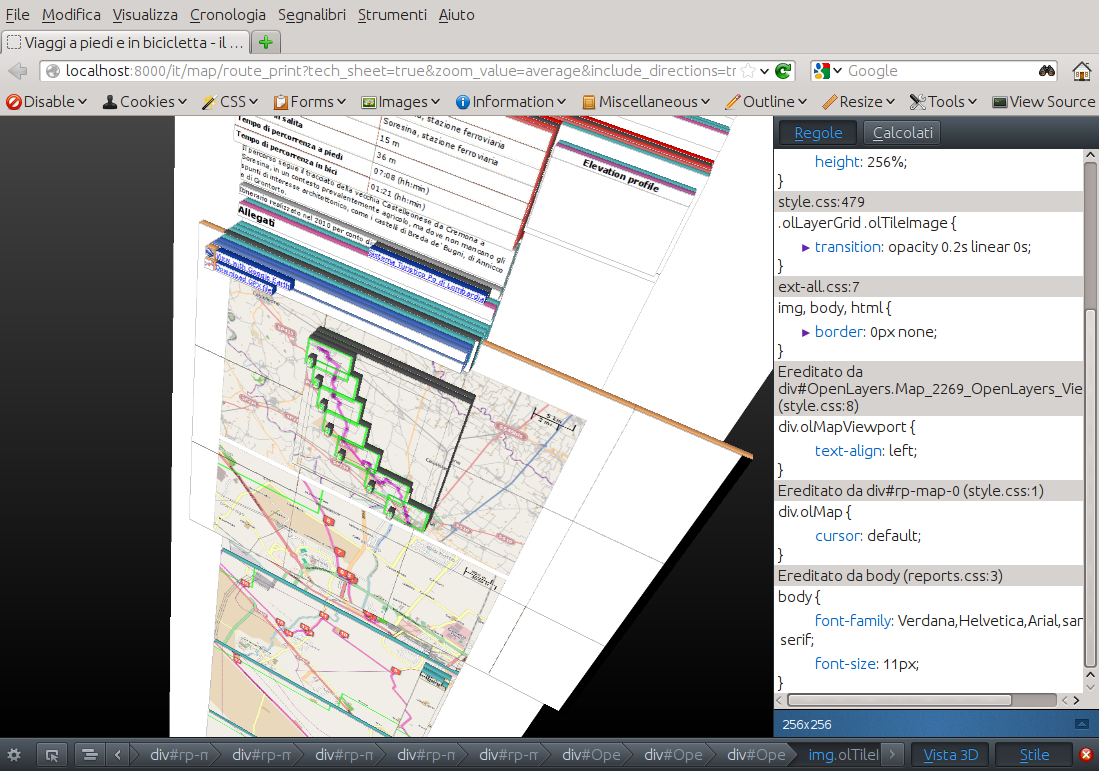 View Your Web Pages Css In 3d Open Web Solutions Gis