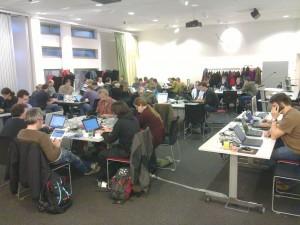 Hard-coders at work