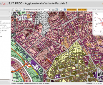 Asti WebGIS with QGIS Server and QGIS Web Client