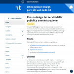 Design Italia Joomla Template: coming soon