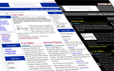 Joomla XHTML Strict Template