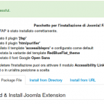 Joomla! FAP installer