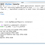 QGIS and IPython: the definitive interactive console